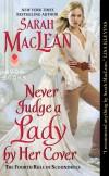 Never Judge a Lady by Her Cover - text
