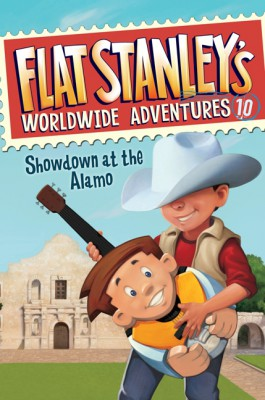 Flat Stanley's Worldwide Adventures #10: Showdown at the Alamo by Jeff Brown from HarperCollins Publishers LLC (US) in Teen Novel category