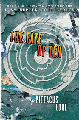 The Fate of Ten by Pittacus Lore from HarperCollins Publishers LLC (US) in General Novel category