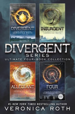 Divergent Series Ultimate Four-Book Collection by Veronica Roth from HarperCollins Publishers LLC (US) in Teen Novel category