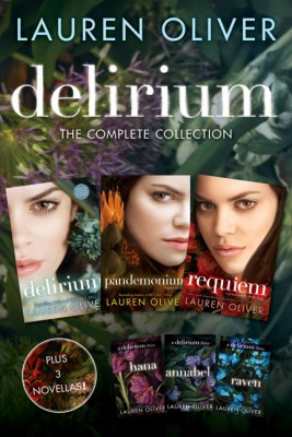 Delirium: The Complete Collection by Lauren Oliver from HarperCollins Publishers LLC (US) in Teen Novel category
