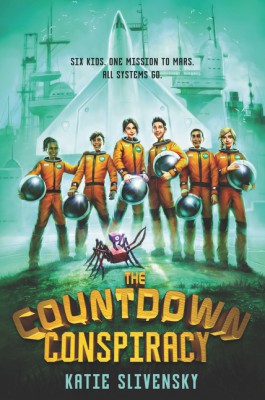 The Countdown Conspiracy by Katie Slivensky from HarperCollins Publishers LLC (US) in Teen Novel category