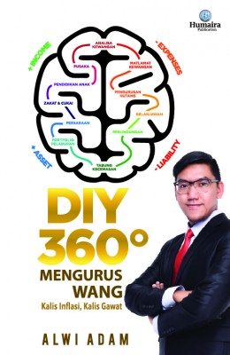 DIY 360 Mengurus Wang by Alwi Adam from Humaira Publication Sdn Bhd in General Novel category