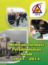 Mentransformasi Perkhidmatan Awam 2013-2014 - text