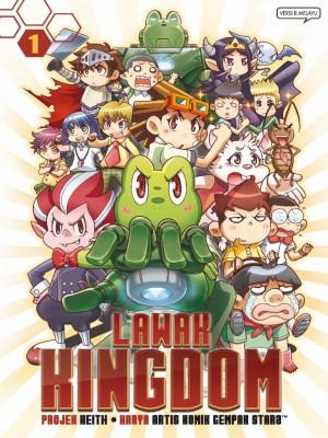 Lawak Kingdom 01 by Keith from KADOKAWA GEMPAK STARZ SDN BHD in Comics category