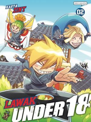 Lawak Under 18 - 02 by Zint from KADOKAWA GEMPAK STARZ SDN BHD in Comics category