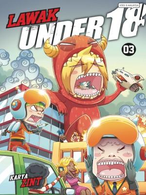 Lawak Under 18 - 03 by Zint from KADOKAWA GEMPAK STARZ SDN BHD in Comics category
