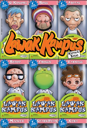 Lawak Kampus 01 by Keith from KADOKAWA GEMPAK STARZ SDN BHD in Comics category