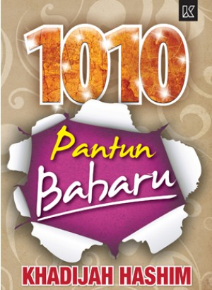 1010 Pantun Baharu by Khadijah Hashim from K PUBLISHING SDN BHD in General Novel category