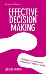 BSS: Effective Decision Making - text