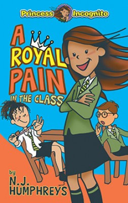 Princess Incognito: A Royal Pain in the Class by N.J. Humphreys from Marshall Cavendish International (Asia) Pte Ltd in Teen Novel category