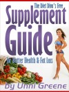 The Diet Diva's Free Supplement Guide for Better Health & Fat Loss - text