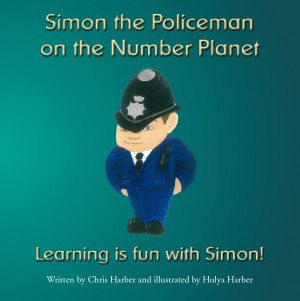 Simon the Policeman on The Number Planet by Chris Harber from m-y books ltd in Teen Novel category