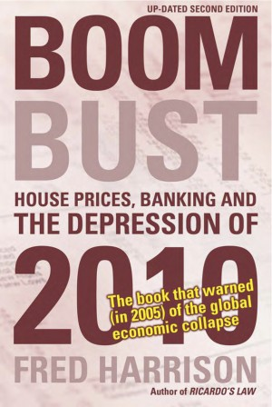 Boom Bust by fred  harrison from m-y books ltd in Business & Management category