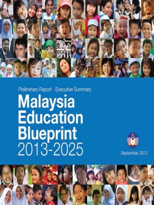 Malaysia Education Blueprint 2013-2025 by Kementerian Pelajaran Malaysia from Ilham Editorial Services in General Academics category