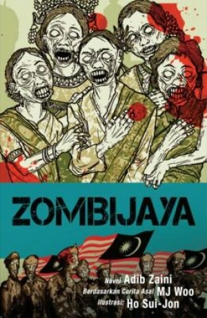 Zombijaya by Adib Zaini from Buku Fixi in Teen Novel category