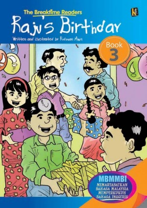 Raju's Birthday by Ridzuan Amin from Mika Cemerlang Sdn Bhd in Tots & Toddlers category