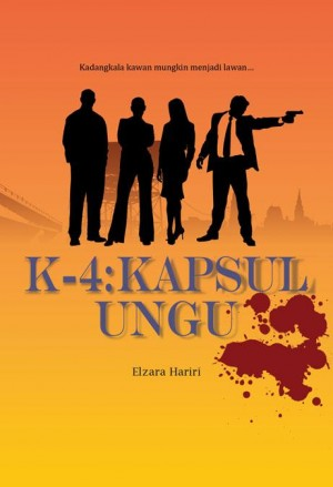 K-4: Kapsul Ungu by Elzara Hariri from K Four Publishing in General Novel category
