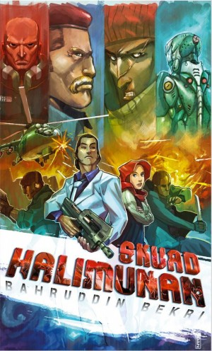 Skuad Halimunan by Bahruddin Bekri from PTS Publications in Teen Novel category