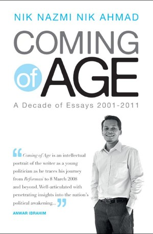 Coming of Age by Nik Nazmi Nik Ahmad from Marshall Cavendish International (Asia) Pte Ltd in Politics category