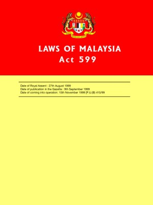ACT 599 : Consumer Protection Act 1999 by Xentral Methods from Xentral Methods Sdn Bhd in Law category