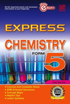 Express Chemistry Form 5 by Penerbitan Pelangi Sdn Bhd from Pelangi ePublishing Sdn. Bhd. in General Academics category