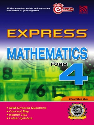 Express Mathematics Form 4 by Penerbitan Pelangi Sdn Bhd from Pelangi ePublishing Sdn. Bhd. in General Academics category