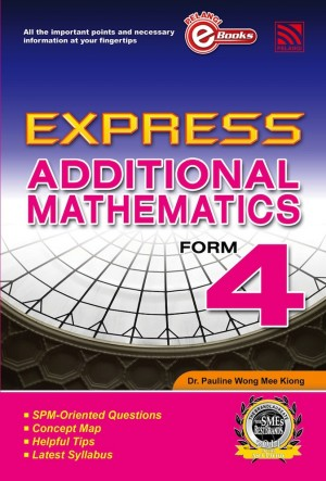 Express Additional Mathematics Form 4 by Penerbitan Pelangi Sdn Bhd from Pelangi ePublishing Sdn. Bhd. in General Academics category