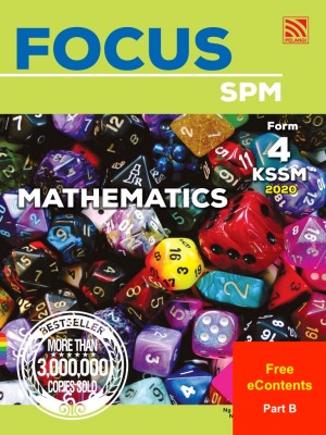 Focus Mathematics Form 4 : Part B by Ng Seng How, Yong Kuan Yeoh, Neo Geok Kee, Ooi Soo Huat from Pelangi ePublishing Sdn. Bhd. in School Reference category