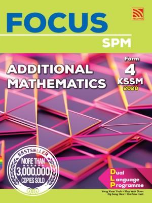 Focus Additional Mathematics Form 4 by Yong Kuan Yeoh, Moy Wah Goon, Ng Seng How, Ooi Soo Huat from Pelangi ePublishing Sdn. Bhd. in School Reference category