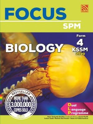 Focus Biology Form 4 by Noor Haniyatie Ibrahim, Jariah Khalib, Sudani Sudin, Rodiah Abd Wahid, Nalini A/P Balachandran from Pelangi ePublishing Sdn. Bhd. in School Reference category