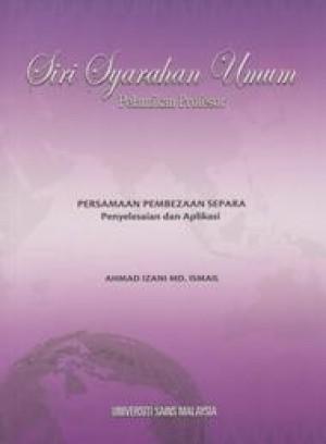 Persamaan Pembezaan Setara: Penyelesaian dan Aplikasi by Ahmad Izani from PENERBIT UNIVERSITI SAINS MALAYSIA in General Academics category