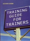 Training Guide for Trainers - text