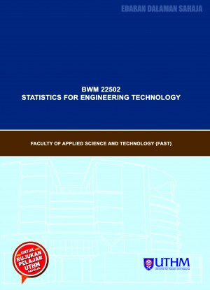 MODUL P&P: STATISTICS FOR ENGINEERING TECHNOLOGY