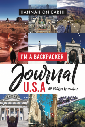 I'm A Backpacker Journal USA by Hannah On Earth from PTS Publications in Travel category