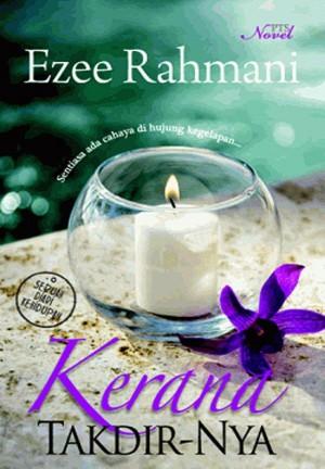Kerana Takdir-Nya by Ezee Rahmani from PTS Publications in General Novel category