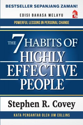 The 7 Habits of Highly Effective People Edisi Bahasa Melayu by Stephen R. Covey from PTS Publications in Motivation category