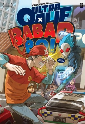 Ultra Qalif x Babap Boi #1: Dendam Terpendam by Froggypapa from PTS Publications in Comics category