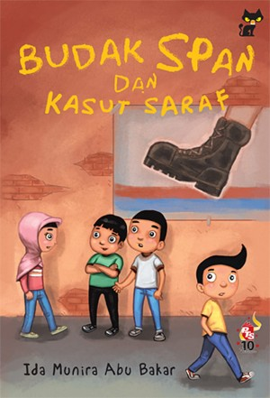 Budak Span dan Kasut Saraf by Ida Munira Abu Bakar from PTS Publications in Teen Novel category