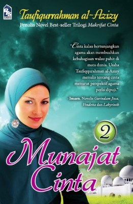 Munajat Cinta (2) by Taufiqurrahman al-Azizy from PTS Publications in Teen Novel category