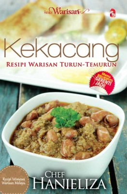 Resipi Warisan: Kekacang by Chef Hanieliza from PTS Publications in Teen Novel category
