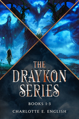 The Draykon Series Books 1-3 by Charlotte E. English from PublishDrive Inc in General Novel category