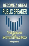 Become A Great Public Speaker - text