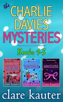 A Charlie Davies Mystery Collection Books 1-3 by Clare Kauter from PublishDrive Inc in General Novel category