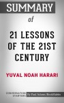 Summary of 21 Lessons for the 21st Century - text
