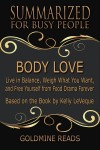Body Love - Summarized for Busy People - text