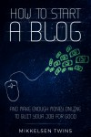 How to Start a Blog - text