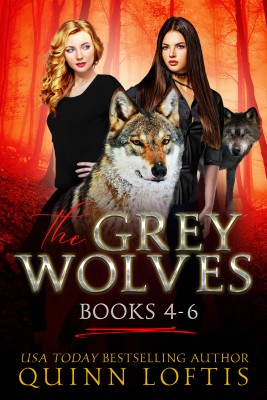 The Grey Wolves Series Books 4-6 by Quinn Loftis from PublishDrive Inc in General Novel category