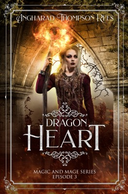 Dragon Heart by Angharad Thompson Rees from PublishDrive Inc in Teen Novel category