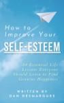 How to Improve Your Self-Esteem - text
